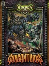 Warmachine Hordes Gargantuans Book Hard Cover English new