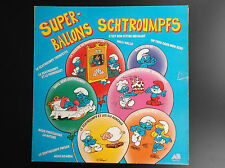 Disque LP  33 tours La comédie musicale des Schtroumpfs 1985