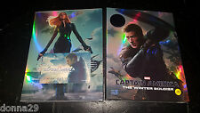 Captain America: Winter Soldier 3D+2D Bluray KimchiDvD FullSlip A2 Steelbook New