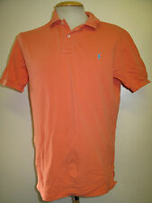 "Genuine Vintage Ralph Lauren men's Orange Polo Shirt Size 36-38"" S"