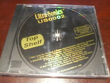 ULTRA-SONICS KARAOKE DISC US0002 TOP SHELF CD+G POP