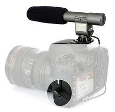 Pro SG-108 DV Stereo Microphone for Canon 650D 5D 6D 7D 700D Nikon D810 D7100
