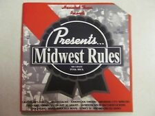 MIDWEST RULES VOL. 1 USED 1999 CD 21 TRACK COMPILATION HAUNTED TOWN RECORDS RARE
