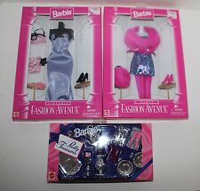 Barbie Fashion Avenue Party Lingerie Outfits Pretty Treasures Set of 3 NRFB