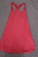 PINK VICTORIA'S SECRET LADIES workout VEST DRESS SIZE XS oversize 6 8