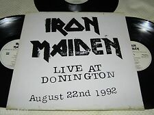 Iron Maiden - Live At Donington Triple LP Set, 20 track, 1994 Korea LP.
