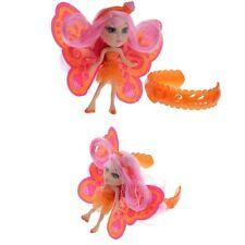 Mattel Barbie t7468 a Fairy secret mini doll and Orange Bracelet set, nouveau & OVP