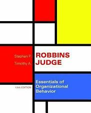 Essentials of Organizational Behavior by Stephen P. Robbins 13th Edition