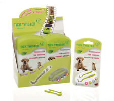 ORIGINAL O'Tom Tick Twister Tick Remover for Dogs/Cats/Horses/Humans (Pack of 2)