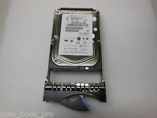 "IBM 146.8Gb SAS 15K 3.5"" HDD in IBM caddy P/N 26K5842 FRU 39R7350"