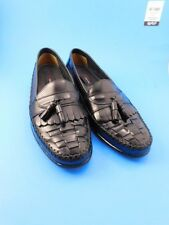 Tiger Woods Collection Tassled Basket Weeve Loafers Shoes