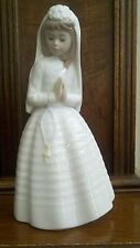 Nao by Lladro 1st Communion Praying Girl Porcelain Figurine #0236 - Vintage