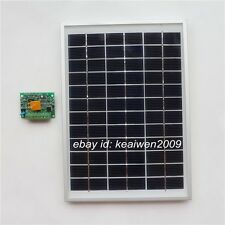 18v 5w solar panel solar pv module power with 12v 3a solar charge controller