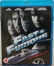 Fast And Furious (Blu-ray, 2009) STARRING VIN DIESEL & PAUL WALKER