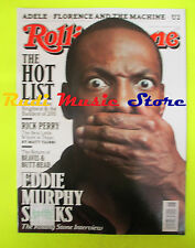 ROLLING STONE USA MAGAZINE 1143/2011 Eddie Murphy Rick Perry Noel Gallagher Nocd