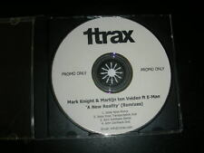 "RARE PROMO CD Mark Knight Martijn Ten Veldon ""New Reality (Remixes)"" 1 Track Rec"