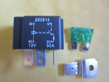 4 Pin 12v 30A Fused  Relay