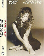 MARIAH CAREY WITHOUT YOU NEVER FORGET CASSETTE SINGLE ELECTRONIC POP BALLAD