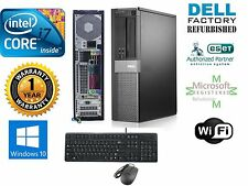 Dell Computer 980 PC DESKTOP  Core I7 870 2.93GHz 4GB 120GB  SSD Window 10 HP 32