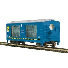MTH HO scale LIGHTED OPERATING ACTION CAR Sharks  81-99007