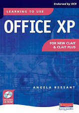 Learning to Use Office Xp for New Clait and Clait Plus,GOOD Book