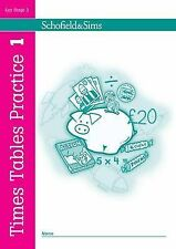Times Tables Practice Book 1 Children School Maths Key Stage 1