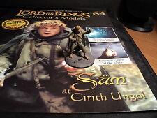 Señor De Los Anillos Figuras-cuestión 64-Sam en Cirith Ungol-Eaglemoss-rompió N