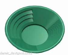 "SE 14"" PANNING GOLD PAN - GREEN"