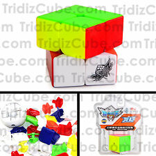 2x2x2 Stickerless Cyclone Boys FeiChang Speed Cube Puzzle New 2x2 - US SELLER -