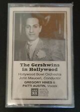 THE GERSHWINS IN HOLLYWOOD Music Cassette NEW Hollywood Bowl Orchestra SEALED
