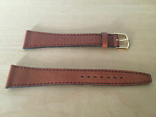 New - Brown Leather strap COBRA - 20 mm - Piel Marrón - Nueva