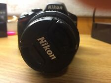 Nikon D D3200 24.2 MP Digital SLR Camera - Black (Kit w/ AF-S DX VR G 18-55mm