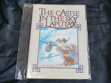 Rare vintage item Laputa Notebook - Genuine Studio Ghibli M75