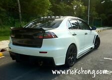 2008 TO 2017 MITSUBISHI LANCER GT EVO RALLIART SCORPION CUSTOM BOOT LIP SPOILER