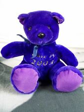 KUDDLE ME TOYS CLASS OF 2003 PLUSH STUFFED ANIMAL BEAR PURPLE GRADUATION PRESENT