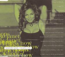 JANET JACKSON - Whoops Now/What'll I Do (UK 4 Trk CD Single)