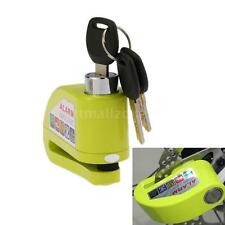 Antitheft Disc Brake Lock Security Alarm For Motorcycle Bicycle Scooter New B9M5