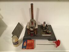 Vintage Wilesco Live Model Steam Engine  S.R. & Co. No.2141  AS IS