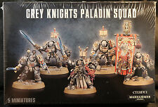Warhammer 40K Grey Knight Knights Paladin Terminators Squad New & Sealed