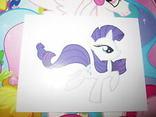 MY LITTLE PONY MON PETIT PONEY TOPPS 2014 IMAGE STICKER AUTOCOLLANT N° H RARE