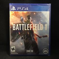 Battlefield 1 (Sony PlayStation 4, 2016) BRAND NEW / Region Free