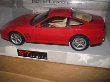 UT 1.18 FERRARI F55O MARANELLO 1996 RED OLD SHOP STOCK  AWESOME RARE CAR