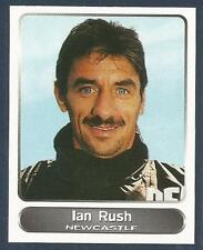 PANINI SUPERPLAYERS 1998 #281-NEWCASTLE-LEEDS-LIVERPOOL/WALES-JUVENTUS-IAN RUSH