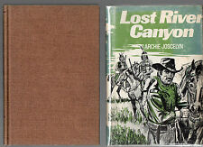 1976 First Edition in Dust jacket of Lost River Canyon , collectible copy
