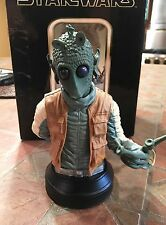 Star Wars Gentle Giant GREEDO Bust A New Hope Bounty Hunter
