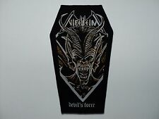 NIFELHEIM  COFFIN  WOVEN PATCH