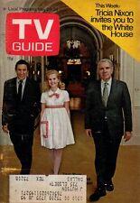 1970 TV Guide May 23 - Tricia Nixon; Wayne Saunders; Lennon Sisters; John Saxon