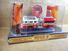 CODE 3 PIERCE CITY OF NEW YORK NO# 47  FIRE ENGINE - 1/64 SCALE DIE-CAST