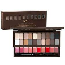 NYX Makeup Set ( S119 ) Nude On Nude 20 Eye Shadows & 10 Perfectly Lip Colors