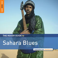 Rough Guide to Sahara Blues NEW SEALED LP w/ download & extra tracks!